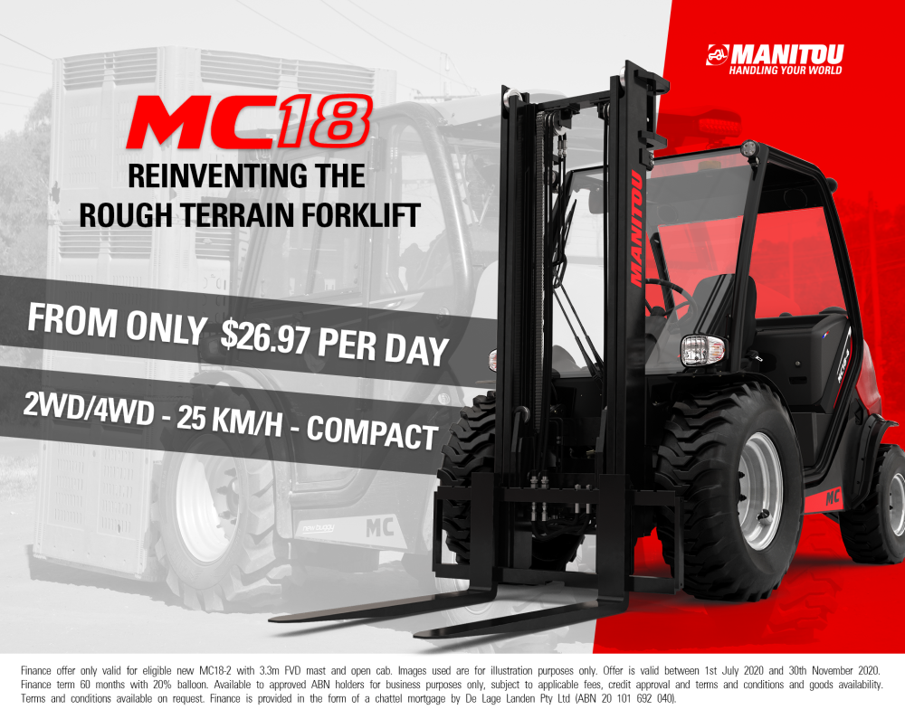 MC18 Manitou Forklifts