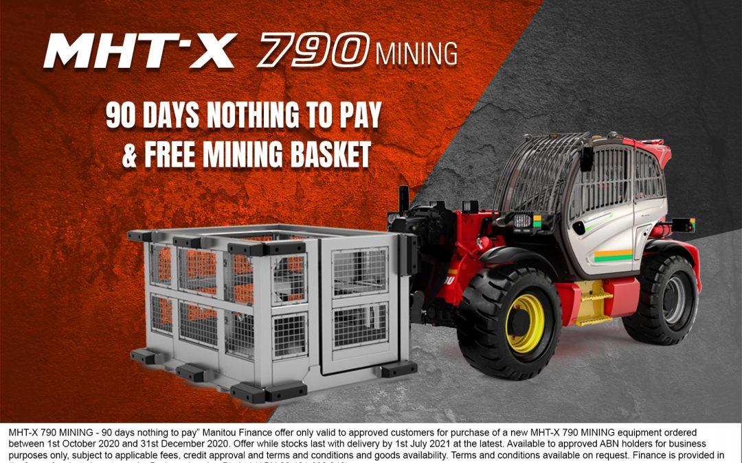 MHT-X 790 Mining – 90 Days nothing to pay & Free mining Basket!